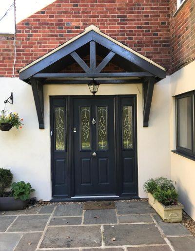 Solidor Front Door & porchway
