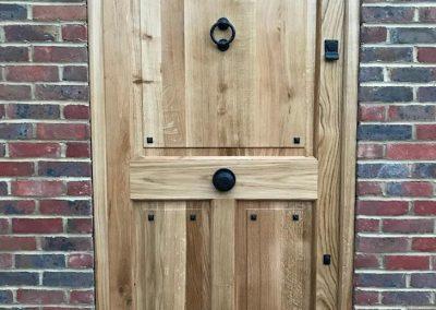 bespoke wood front door