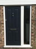 composite front door and side panel 2
