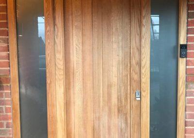 hardwood front door 3
