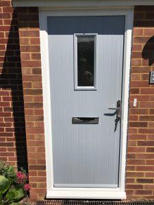 solidor composite front door