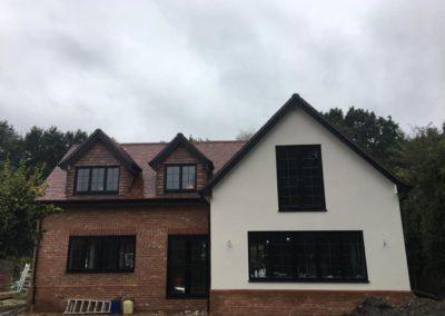 Black Casement Windows With Lead