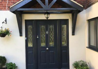 Composite Solidor Front Door Porchway