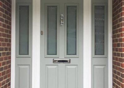 Composite Solidor Front Door Ludlow With Side Panels