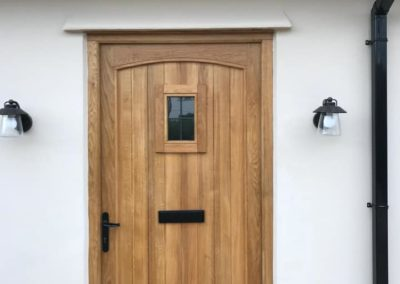 Bespoke Timber Front Door