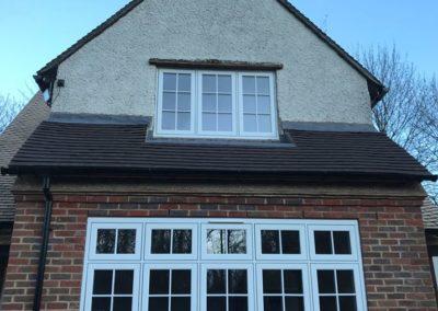 R9 White Casement Windows With Georgian Bars