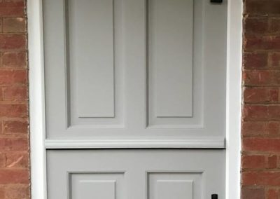 Bespoke Timber Stable Front Door