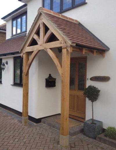 Front Door Porchway