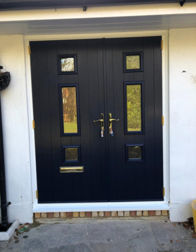 Composite Double Front Door