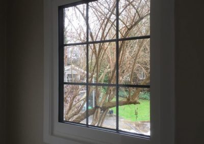 White PVC Fixed Window With Lead