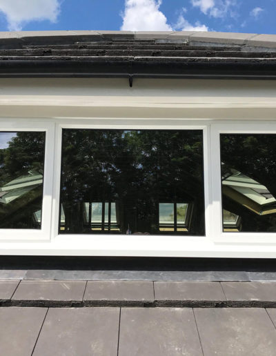White PVC Casement Windows
