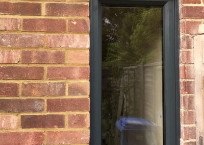 Grey PVC Fixed Window