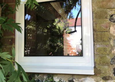 White PVC Fixed Window