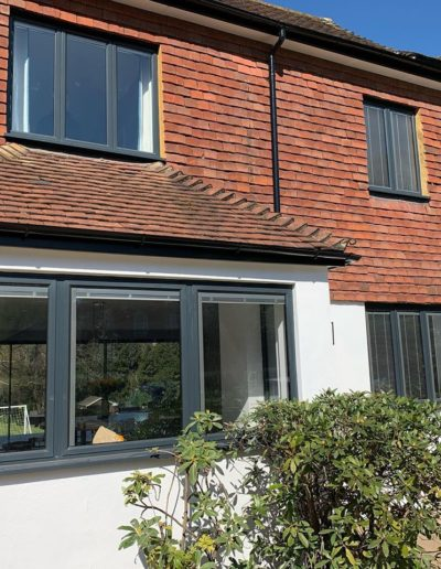 Aluminium Windows With Internal Blinds