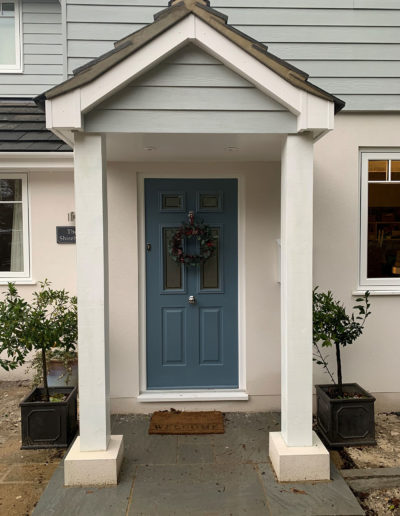 Grey Composite Front Door