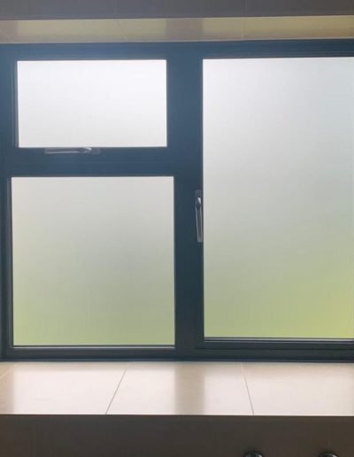 Grey Casement With Obscured Glass
