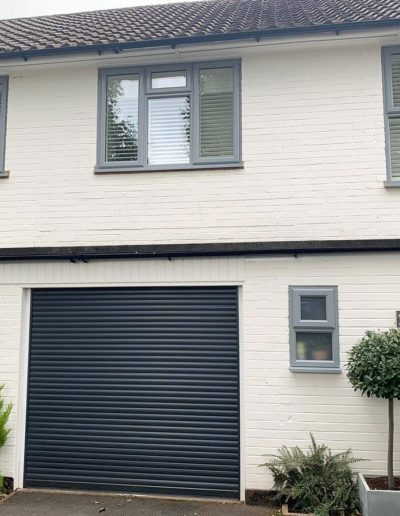 Light Grey Casement Windows