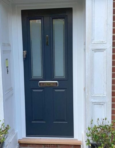 Solidor Front Door Ludlow In Anthracite Grey