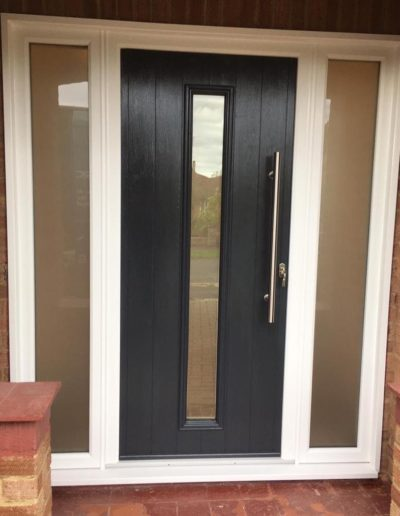 Solidor Front Door In Black