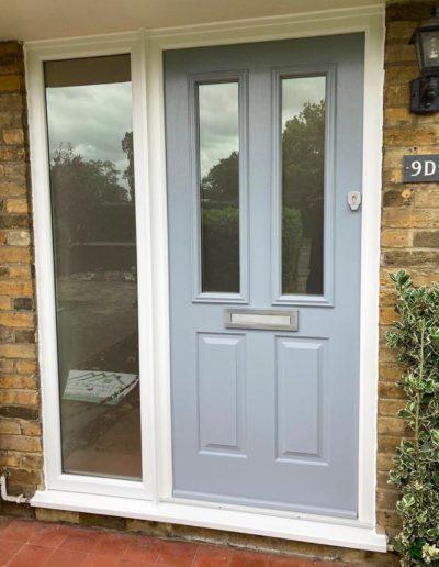 Solidor Front Door In Duck Egg Blue