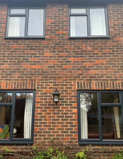 Grey Casement PVCu Windows