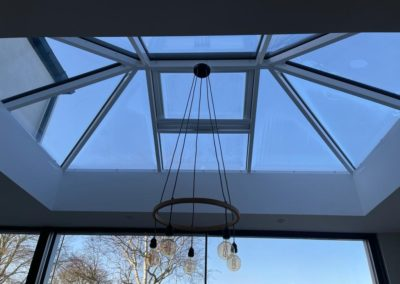 Lantern Roof With Electric Opener
